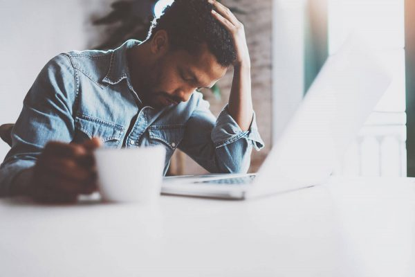 A man's mental health is affected by his sleep.